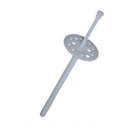Дюбель для теплоизоляции с пластиковым гвоздём 10/100 уп. 100 шт.