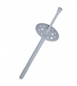 Дюбель для теплоизоляции с пластиковым гвоздём 10/70 уп. 100 шт.