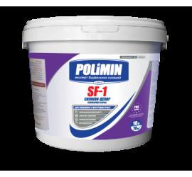 Силиконовая фасадная краска Polimin SF-1 Силикон-декор