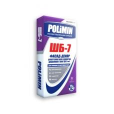 Шпаклевка Polimin ШБ-7 Фасад-декор супертонкая слой до 3 мм белая