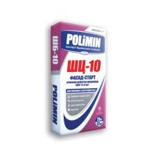 Цементная шпаклевка Polimin ШБ-10 Фасад-старт белая