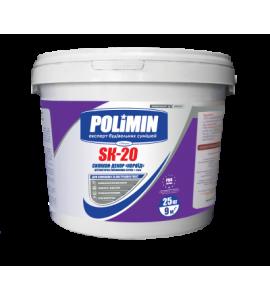 Штукатурка силиконовая Polimin SK-20 Силикон-декор короед зерно 2 мм