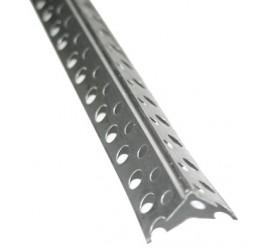 Уголок перфорированный алюминиевый 3,0 м