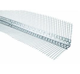 Уголок перфорированный алюминиевый с сеткой 3,0 м